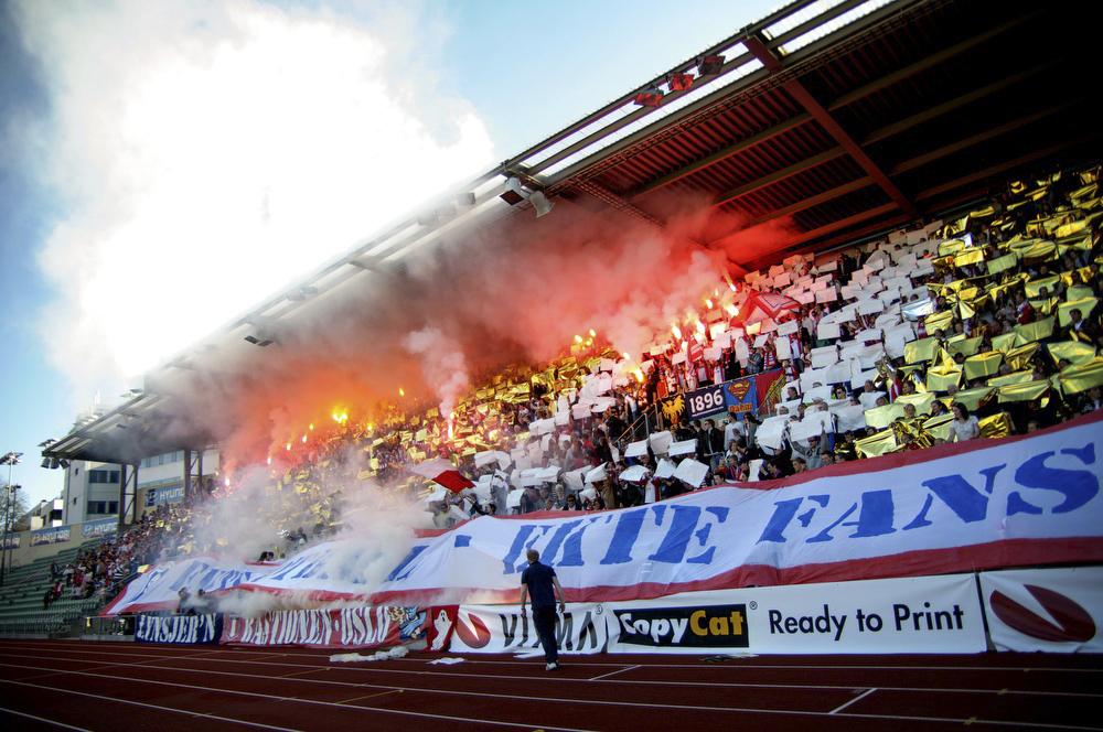 Bastionen sin Tifo fra NM-kampen mot VIF i 2012