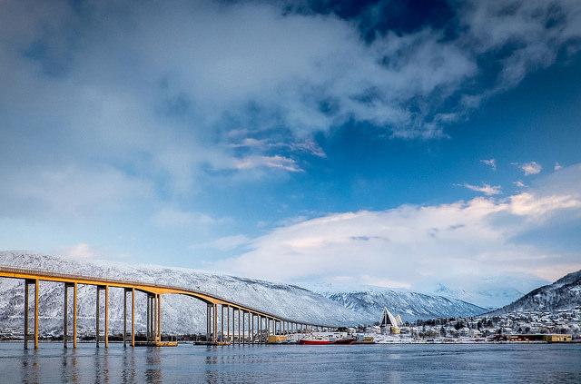 Fasten your seatbelt, Bastionen is ready for landing. Foto: Tromsø Kommune