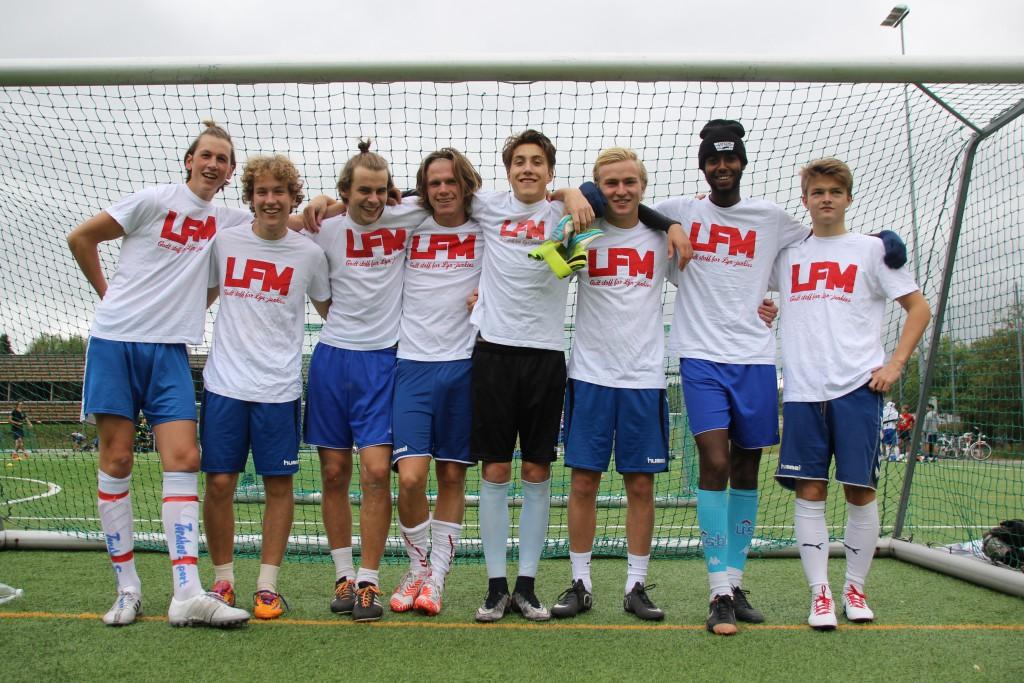 Årets Bastionen Cup vinnere. Foto: Leander Falkenberg